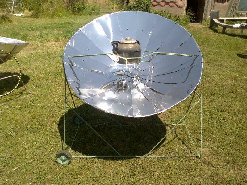 Cocina solar nicol s di ruscio for Planos de cocina solar
