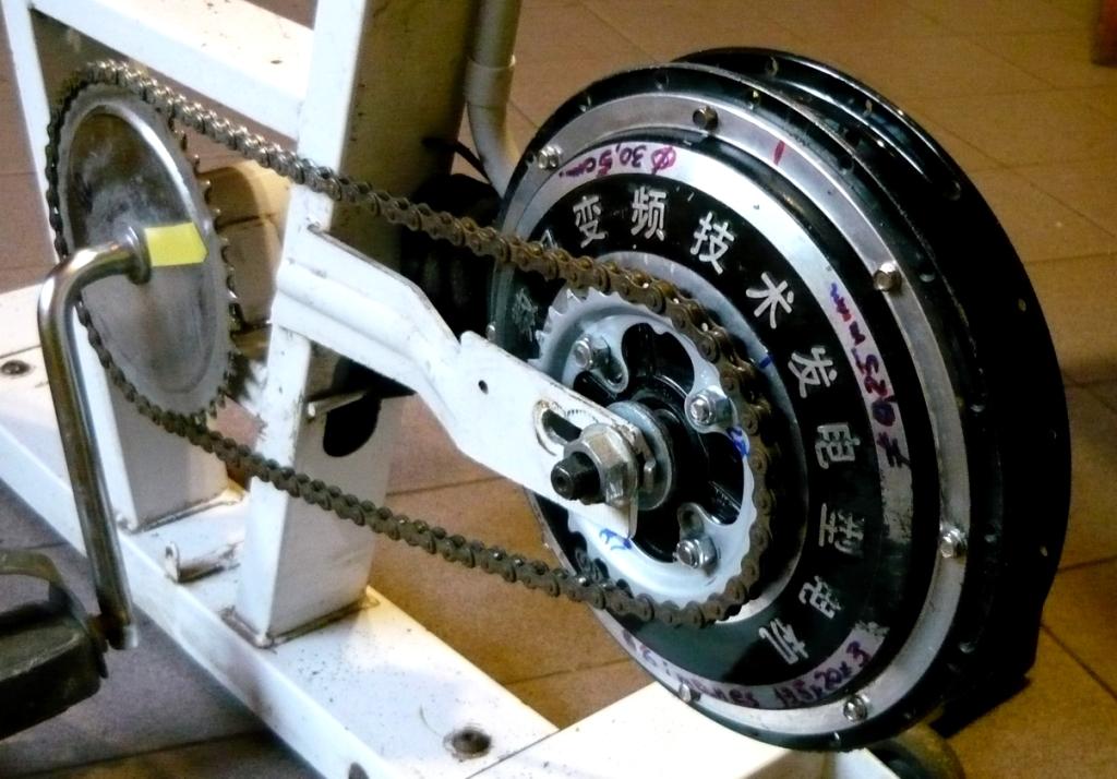 Generador el ctrico a pedal nicol s di ruscio - Motores de ventiladores de techo ...